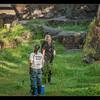 Amy & Kabibe-early morning walk